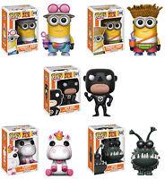 Funko POP! Movies ~ DESPICABLE ME 3 VINYL FIGURE SET ~ Kyle, Spy Gru, Fluffy++