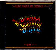 AL DI MEOLA Friday Night In San Francisco Original West German Pressing CD