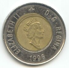 Canada Circulated 2 Dollars -War of 1812 Toonie Canadian Coin 2012