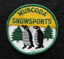 """New listing c.1972 """"Muscoda Snowsports Snowmobile Club"""" Grant Iowa County Wi Wisconsin Patch"""