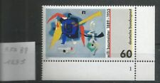 Allemagne RFA 1989 1235 ** Tableau Willi Baumeister Bluxao 1