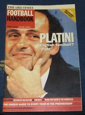 THE TIMES FOOTBALL HANDBOOK MONTHLY AUGUST 18 2001 VOLUME 2 ISSUE 1