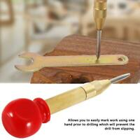 Automatic Center Punch Spring Loaded Marking Starting Drilling Holes Hand Tool