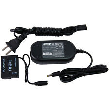 HQRP AC Power Adapter & DC Coupler for Panasonic Lumix DMC-FZ200 DMC-G5 DMC-G5X