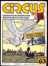 Circus n°63 de juillet 1983