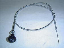 """Universal Choke Cable Car Truck or Boat 48 """" 120cm Has Choke Picture on Knob"""