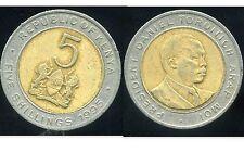 KENYA   5  shillings 1995
