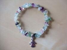 'HEALING' ANGEL, FLUORITE Gemstone Bracelet