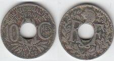 Gertbrolen  10 Centimes  en Cupro-Nickel Lindauer 1922  Atelier de Poissy  N° 5
