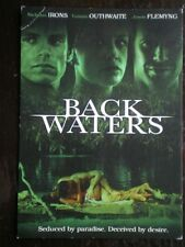 POSTCARD  FILM POSTER FOR 'BACK WATERS' - NICHOLAS IRONS