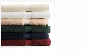 2 Ralph Lauren Basic cotton bath Towels  - Red, Green, Navy, white