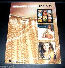 Jennifer Lopez The Hits Song Book Piano Vocal Guitar Tab NOS