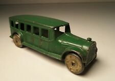 1926~Prewar TOOTSIETOY GREEN FAGEOL SAFETY COACH BUS #4651~EXC~Original Paint