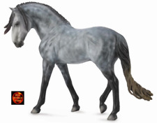 CollectA Dapple Grey Andalusian Stallion Large 1:12 scale horse model Brand New