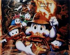 """Alan Young Signed Disney """"Scrooge"""" 11x14 Photo Duck Tales Auto OC Hologram COA A"""
