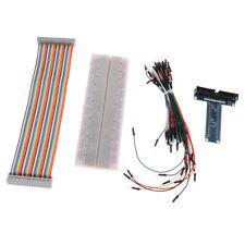 T GPIO Expansion Board + GPIO Cable +Breadboard+65 Jumper Cable For Raspberry Pi