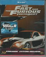 BLU RAY:THE FAST AND THE FURIOUS 3 TOKYO DRIFT STEELBOOK NUOVO SIGILLATO
