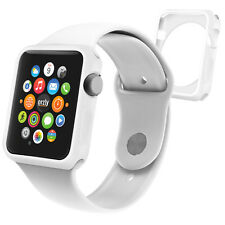 Orzly® Flexicase Faceplate for the Apple Watch SERIES 1 42MM – White
