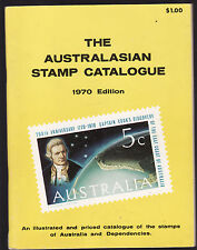 THE AUSTRALASIAN STAMP CATALOGUE 1970 EDITION  Australia stamp collecting bs