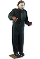 *IN STOCK**  HALLOWEEN II LIFE SIZE MICHAEL MYERS POSABLE 6 FT PROP DECORATION
