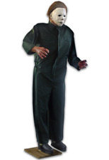 PRE-ORDER***  HALLOWEEN II LIFE SIZE MICHAEL MYERS POSABLE 6 FT PROP DECORATION
