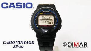 Vintage Casio JP-10 QW.1185 Dk Pulse Converter Year 1990