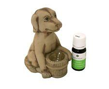 Sauna Oil Burner Dog & Eucalyptus 10 ml, 100% pure Essential oil, Ceramic holder
