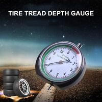 1 x Stainless Steel Tire Tread Depth Gauge for Car Truck Bike Motorcycle