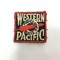 WESTERN PACIFIC Vintage Railroad Patch