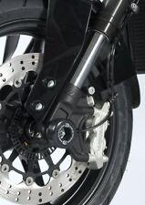 KTM 690 Duke R 2013-2014 R&G racing black fork crash protectors