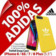 Adidas Trèfle Toile Étui Snap Coque pour Apple IPHONE 6/6S/7/8 Plus (