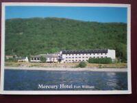 POSTCARD INVERNESS-SHIRE FORT WILLIAM MERCURY HOTEL
