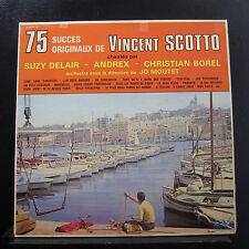 Vincent Scotto - 75 Succes Originaux De 2 LP VG ALBUM 127 France Vinyl Record