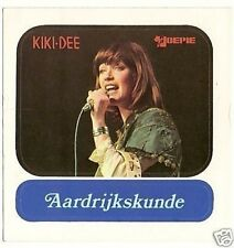 Kiki Dee  1970s Joepie Sticker Collector Card