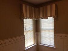 Custom Window Treatments to order Plaid multicolor 3 Valence Vg
