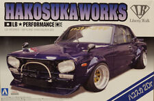 Nissan Skyline C10 Hakosuka Works LB 1:24 Model Kit Bausatz Aoshima 011492