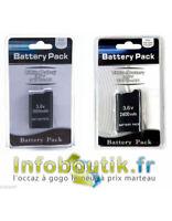 Kit Batterie rechargeable 2400mAh pour PSP 2004 ou 3004, 3600mAh pour PSP 1004
