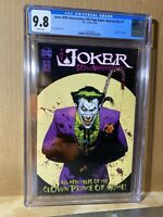 Joker 80th Anniversary Special #1 CGC 9.8 Original Origin punchline DC Comics 🔑