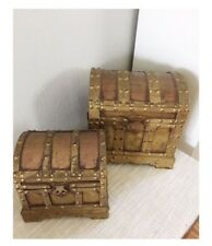 Decorative wooden 2sets of chest