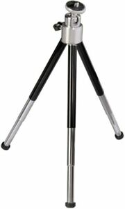 """Mini Tripod with telescopic legs and 1/4"""" screw and adjustable ball head"""