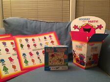 New Mr. Men Little Miss Sunshine Chatterbox Puzzle Party Mats Centerpiece