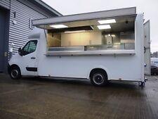 AJC Van *CONVERSION ONLY* Burger kebab Mobile Catering trailer Bar, Food