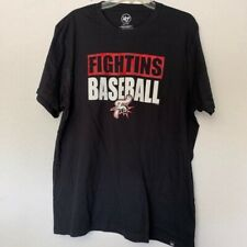 MLB Men's READING FIGHTINS T-Shirt, black, 2XL, New w/defect hole or smudge
