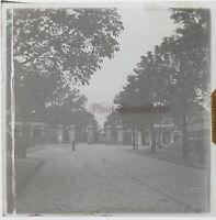 Francia Giardino Foto Stereo PL46Th1n7 Placca Da Lente Vintage C1925