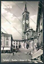 Bergamo Treviglio STRAPPINI Foto FG cartolina EE3883