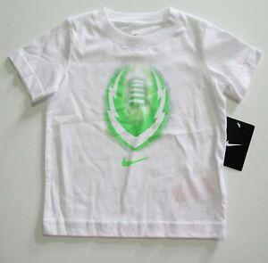 Nike Boys Glow Ignite Sport Short Sleeve T-Shirt White Sz 4 - NWT