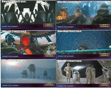 The Empire Strikes Back Widevision 6 Rare Promo Card Set - TOPPS 1995