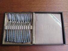 Lot of 12 Antique WMF Cake Forks Set, 90/18