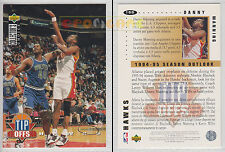 NBA UPPER DECK 1994 COLLECTOR'S CHOICE Danny Manning #166 Gold Signature Ita/Eng