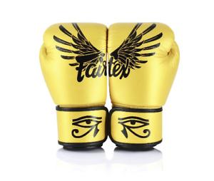 FAIRTEX - Gold Falcon Limited Edition Boxing Gloves (BGV1)